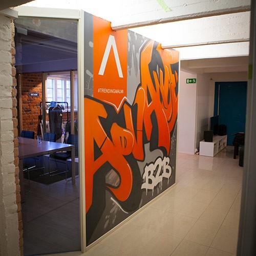 Graffiti toimistoon