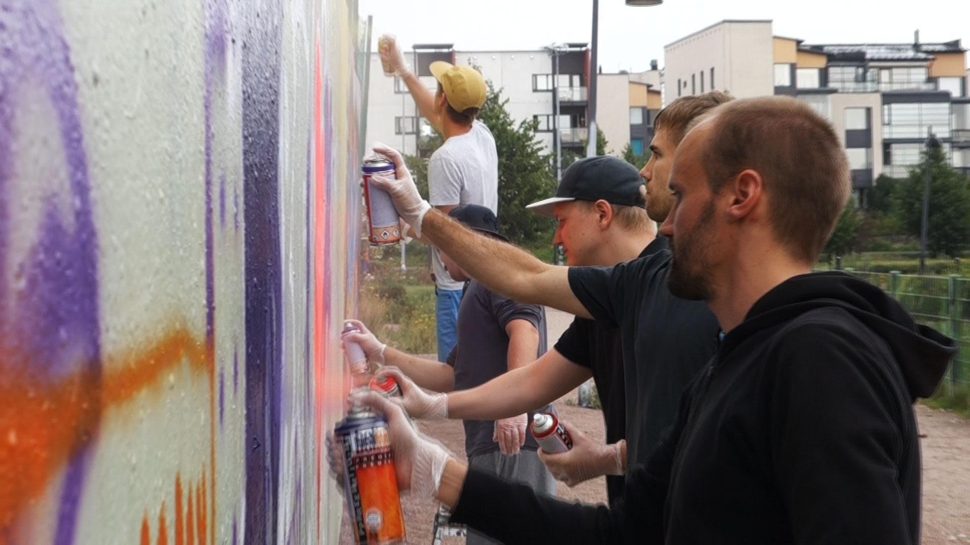Polttari-graffitityöpaja