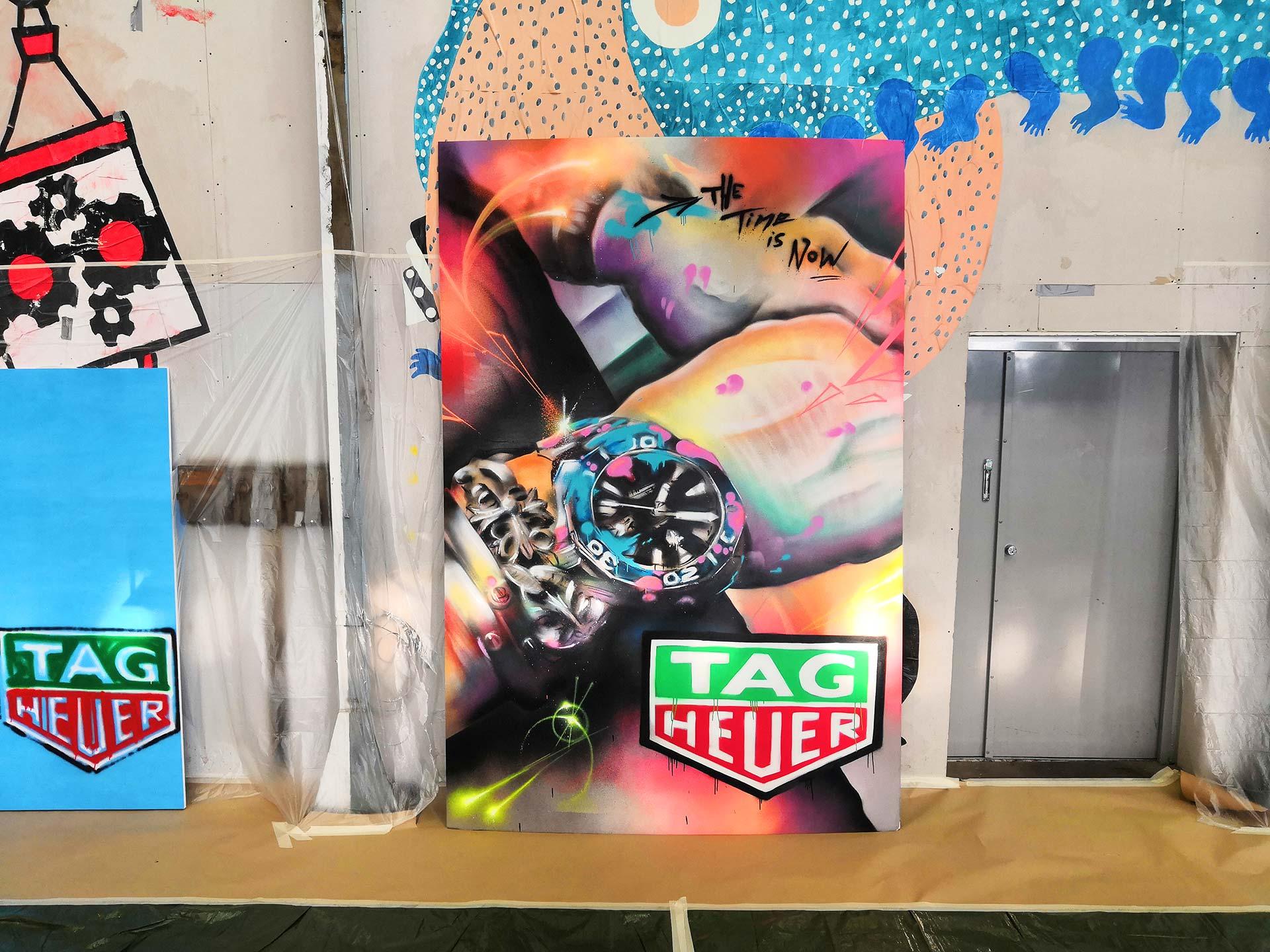 TAG Heuer graffitityöpaja