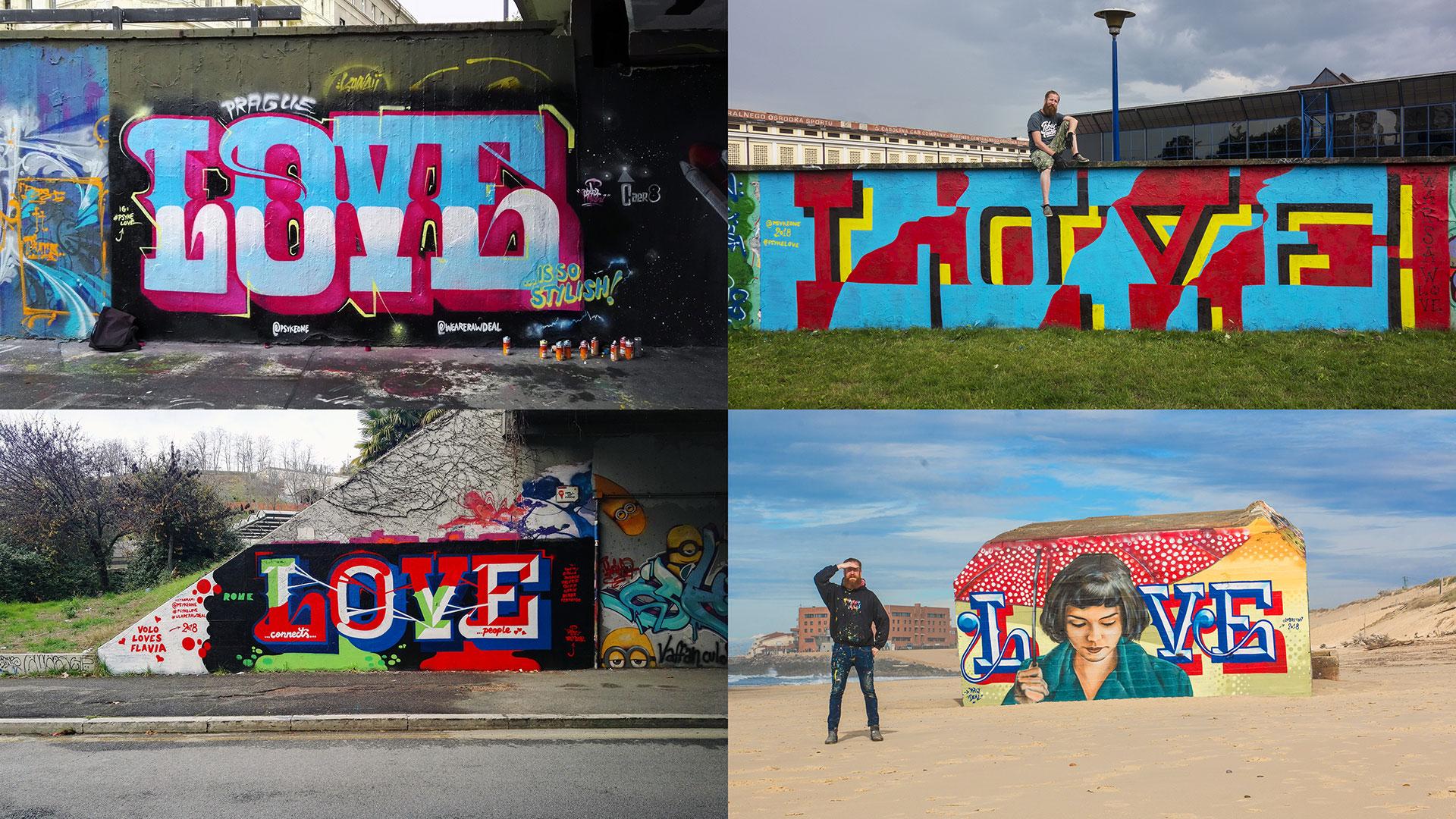 Love Praha Varsova Rooma Capbreton